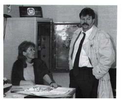 Heinz Weifenbach mit Marrgarethe Adams